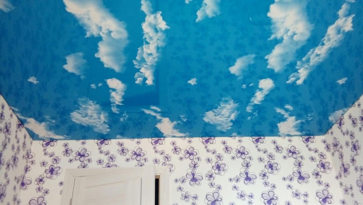 Облака под потолком своими руками 10